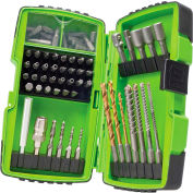 Greenlee® DDKIT-1-68 68 Piece Drill Driver Bit Kit