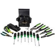 Greenlee 0159-24 Electrician's Metric Tool Kit 16 Piece