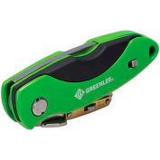Greenlee 0652-23 Heavy Duty Folding Utility Knife