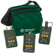 Greenlee 5890-SC Multimode And Single Mode Fiber Optic Test Set With Sc Interface