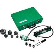 """Greenlee 7306SB Slug-Buster Ram And Hand Pump Hydraulic Driver Kit, 1/2""""x2"""" Hyd Driver"""