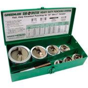 Greenlee 7307 Slug-Splitter Sc Knockout Punch Kit