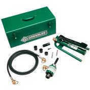 Greenlee 7625 Slug-Buster Ram And Foot Pump Hydraulic Driver Kit