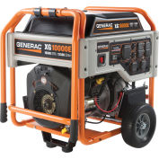 GENERAC® 5802, 10000 Watts, Portable Generator, Gasoline, Electric Start, 120/240V