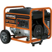 GENERAC® 5982, 3250 Watts, Portable Generator, Gasoline, Recoil Start, 120/240V