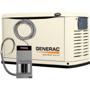 Generac 11,000-Watt Automatic Standby Generator with 50-Amp 12 Circuit Transfer Switch