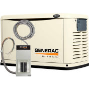 Generac 16,000-Watt Air Cooled Automatic Standby Generator w/100A 16-Circuit Pre-Wired Xfer Switch