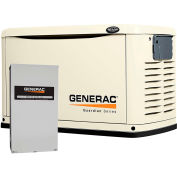 Generac 16,000-Watt Air Cooled Automatic Standby Generator with 200-Amp SE Rated Transfer Switch