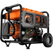 GENERAC® 6673, 7000 Watts, Portable Generator, Gasoline, Electric/Recoil Start, 120/240V