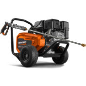 GENERAC® 6712 Commercial Belt Drive Gas Pressure Washer - 3800 PSI, 3.2 GPM