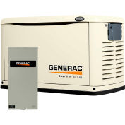 Generac 20,000-Watt Air Cooled Automatic Standby Generator with 200-Amp SE Rated Transfer Switch
