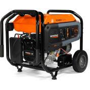 Generac® GP8000E CARB, 8000 Watt, Portable Generator, Gasoline, Electric/Recoil, 120/240V