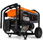 Generac® GP6500 CO-Sense™ CARB, 6500 Watt, Portable Generator, Gasoline, Recoil, 120/240V