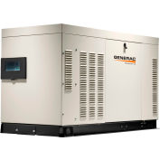 Generac RG02224ANAX, 22kW, Single Phase, Liquid Cooled Quietsource Generator, NG/LP, Alum. Enclosure