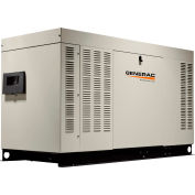 Generac RG04854ANAX, 48kW, Single Phase, Liquid Cooled Quietsource Generator, NG/LP, Alum. Enclosure