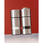 "Mr. Dudley® Peppermills MrD4240/2 - Salt & Pepper Set, Stainless Steel, 5""H x 1-1/2""W x 2""D"