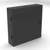 """Computer Enclosure, Black, 20""""W x 20""""H"""