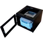 """PC Enclosures Printer Qube Printer Enclosure, 24""""W x 24""""D x 19""""H, Black"""