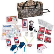 Guardian Survival Gear SKB4 Family 4 Person Blackout Kit, Wheel Bag, Camo