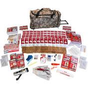 Guardian Survival Gear SKT4 4 Person Elite Survival Kit, Wheel Bag, Camo