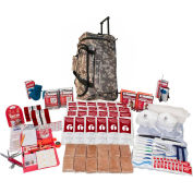 Guardian Survival Gear SKX2 2 Person Deluxe Survival Kit, Wheel Bag, Camo