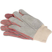 Guardian Survival Gear Leather Palm Working Gloves, 1 Pair