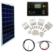 Grape Solar GS-100-BASIC 100-Watt Basic Off-Grid Polycrystalline Silicon Panel Kit