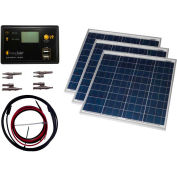 Grape Solar GS-150-KIT 150-Watt Off-Grid Solar Panel Kit