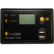 Grape Solar GS-PWM-165W  165-Watt Flush Mount PWM Solar Charge Controller