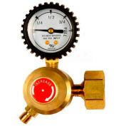 """Acetylene Regulator EA-1G B-Cylinder Connection, """"A"""" Hose Fitting 3/8-24 L.H. - Pkg Qty 4"""
