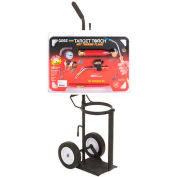 "Sidewinder™ Kit KX-10BCW W/Wheeled Cart, ""B"" Regulator, 12' Hose"