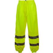 GSS Safety 3801 Class E Standard Mesh Pants, Lime, 2XL/3XL