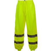 GSS Safety 3801 Class E Standard Mesh Pants, Lime, S/M