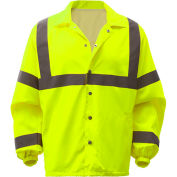 GSS Safety 7501, Class 3, Hi-Vis Windbreaker, Lime, L