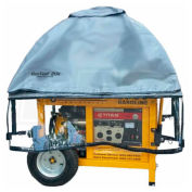 GenTent Running Cover, Universal Kit, Extreme Edition, 10000W and up Portable Generators, Grey