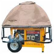 GenTent Running Cover, Universal Kit, Extreme Edition, 10000W and up Portable Generators, Tan