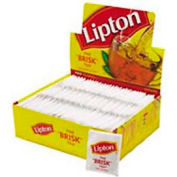 Lipton® Tea Bags, Decaffeinated, Single Cup Bags, 72/box