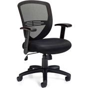 Offices to Go™ Mesh Back Managers Chair w/ Height Adjustable Arms
