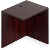 """Offices To Go™ Return Desk - 30""""W x 24""""D x 29-1/2""""H - Mahogany"""