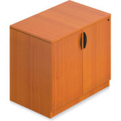 "Offices To Go™ - Storage Cabinet with Lock, 36""W x 22""D x 29-1/2""H, Cherry"