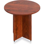 "Offices To Go™ - Round Table - 36""W x 29-1/2""H - Dark Cherry"