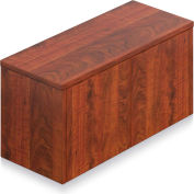 """Offices To Go™ - Wall Mounted Cabinet, 36""""W x 15""""D x 17""""H Dark Cherry"""