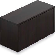 """Offices To Go™ - Wall Mounted Cabinet, 36""""W x 15""""D x 17""""H Espresso"""