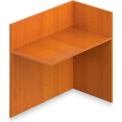 "Offices To Go™ - Reception Return Reversible, 42""W x 24""D x 41""H Cherry"