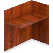 "Offices To Go™ - Reception Return Reversible, 42""W x 24""D x 41""H Dark Cherry"