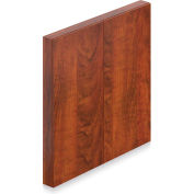 """Offices To Go™ - Visual Board, 48"""" W x 48""""D, Dark Cherry"""
