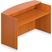 """Offices To Go™ - Reception Desk Shell, 71""""W x 30""""D x 42""""H, Cherry"""