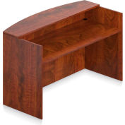 "Offices To Go™ - Reception Desk Shell, 71""W x 30""D x 42""H, Dark Cherry"
