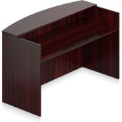 """Offices To Go™ - Reception Desk Shell, 71""""W x 30""""D x 42""""H, Mahogany"""