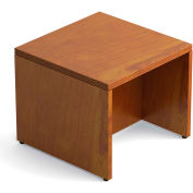 "Offices To Go™ Ventnor Veneer End Table, 24""L x 24""W, Toffee"